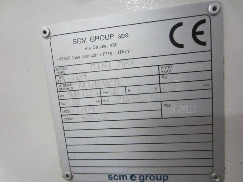 Torno SCM 1200 2 Usada