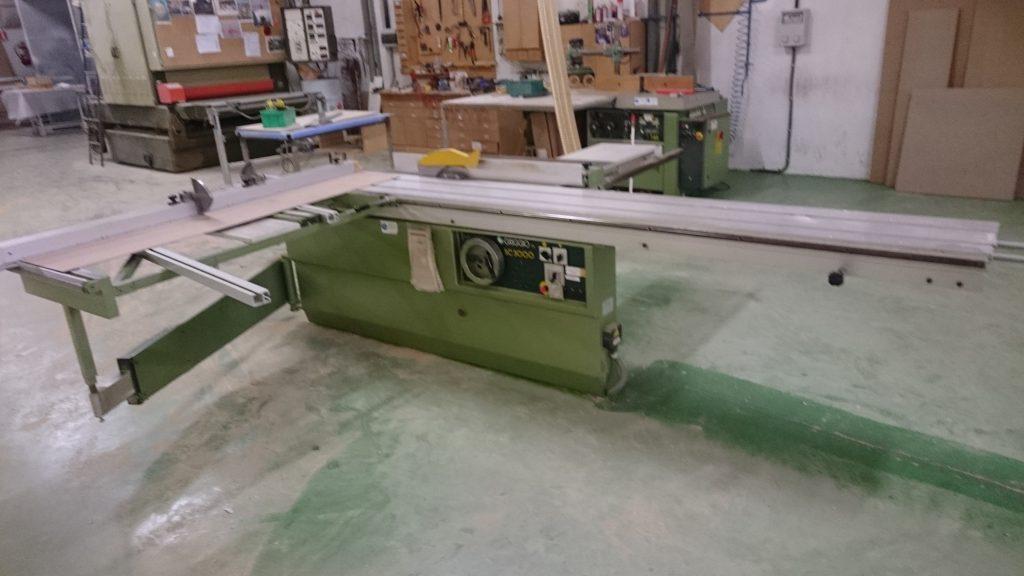 Escuadradora de segunda mano para madera griggio sc3000 - Garajes de madera de segunda mano ...