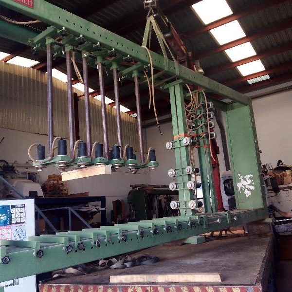 Prensa de montaje de modulos Ramarch PN 28, de segunda mano