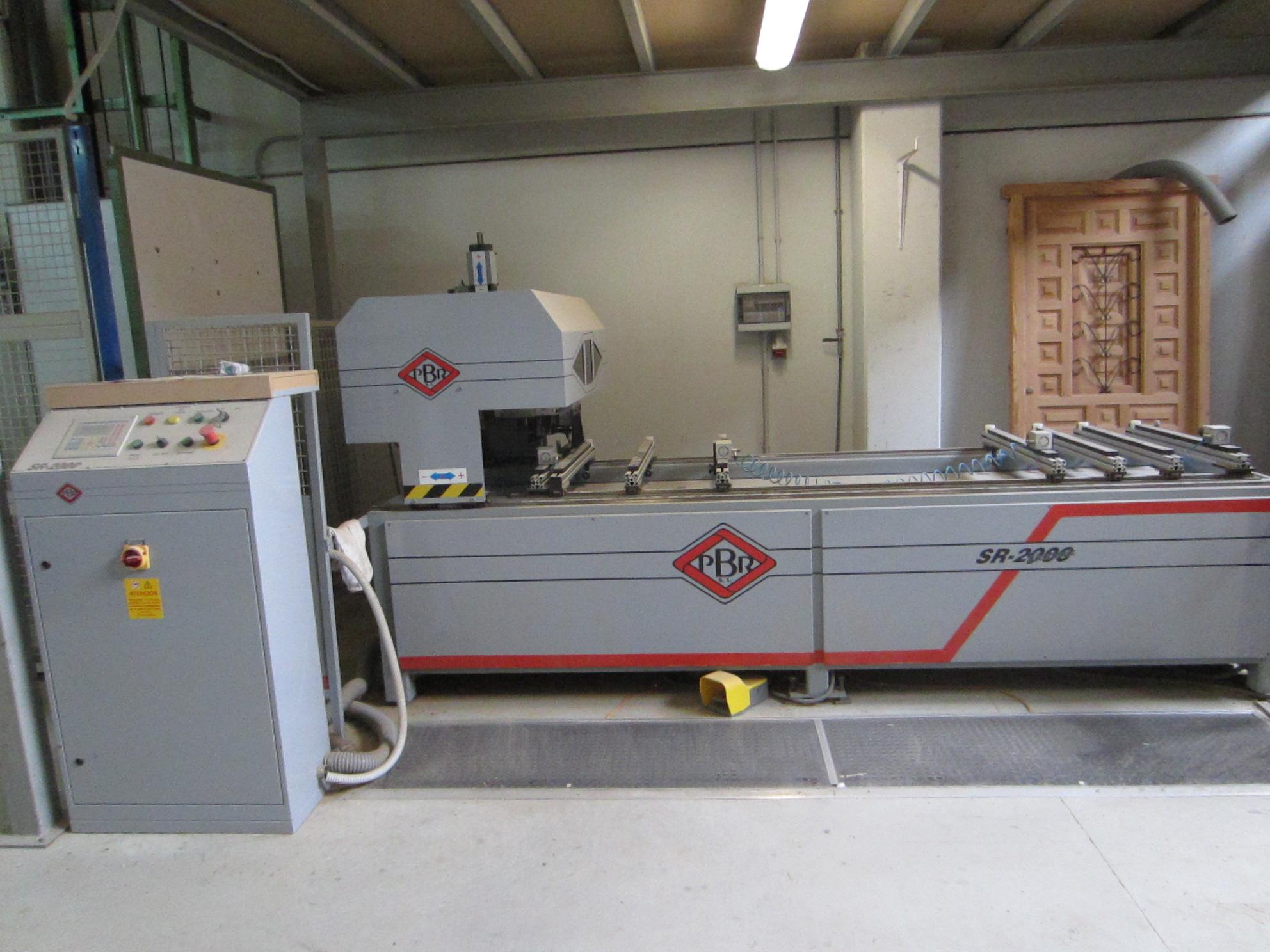 Taladro CNC PBR SR2000 Segunda Mano